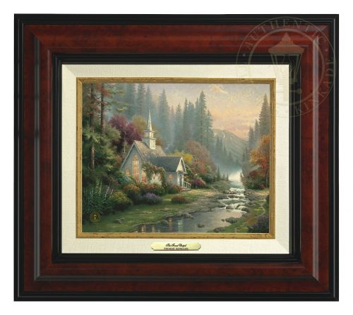 Forest Chapel, The - Canvas Classic (Burl Frame)