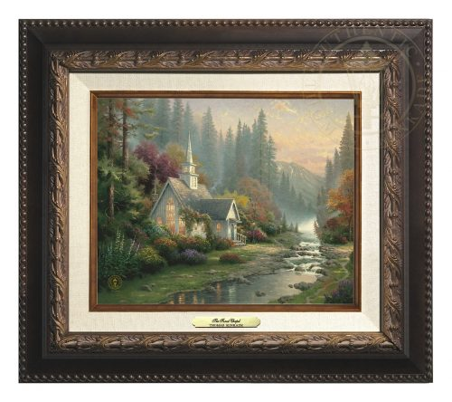 Forest Chapel, The - Canvas Classic (Aged Bronze Frame)