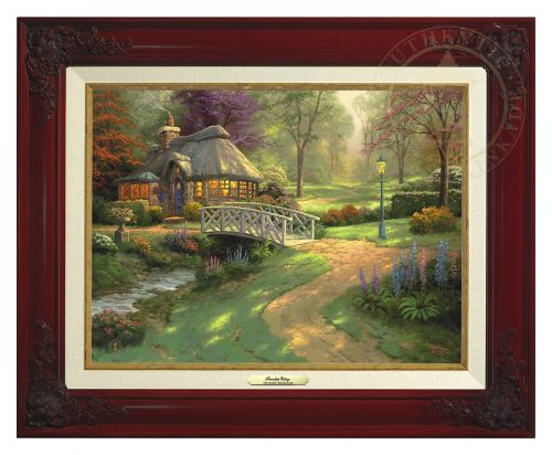 Friendship Cottage - Canvas Classic (Brandy Frame)