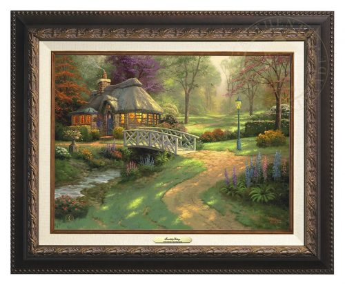 Friendship Cottage - Canvas Classic (Aged Bronze Frame)