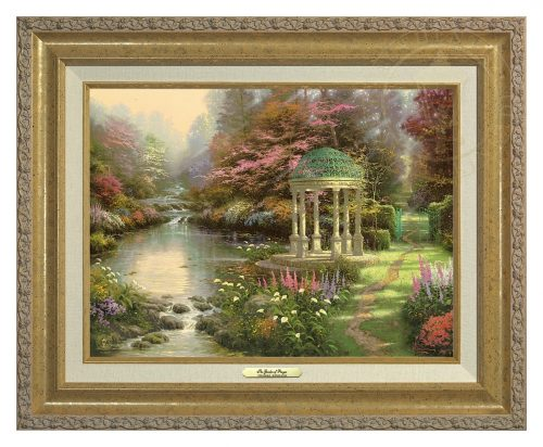 Garden of Prayer, The - Canvas Classic (Gold Frame)