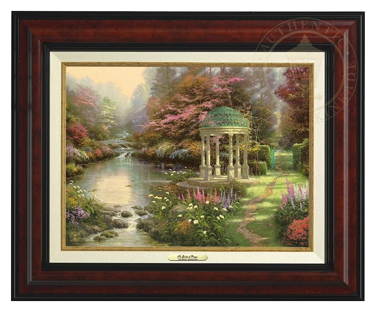 Garden of Prayer, The - Canvas Classic (Burl Frame)