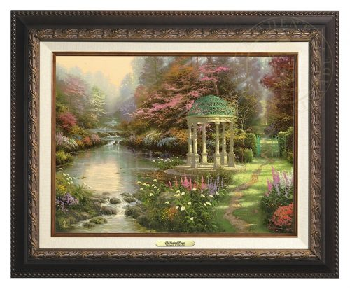 Garden of Prayer, The - Canvas Classic (Aged Bronze Frame)