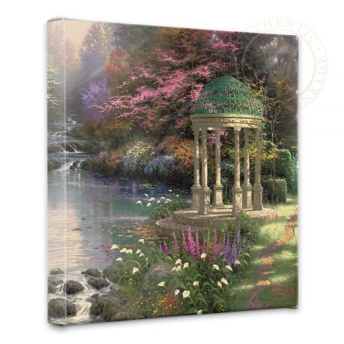 "Garden of Prayer, The - 14"" x 14"" Gallery Wrapped Canvas"