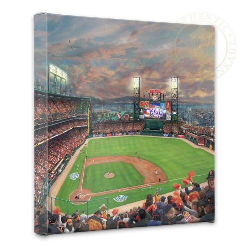 "San Francisco Giants, It's Our Time - 14"" x 14"" Gallery Wrapped Canvas"