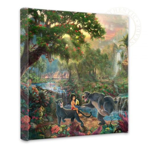 """Jungle Book, The - 14"""" x 14"""" Gallery Wrapped Canvas"""