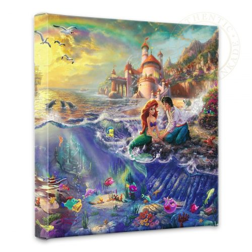 "Little Mermaid, The - 14"" x 14"" Gallery Wrapped Canvas"