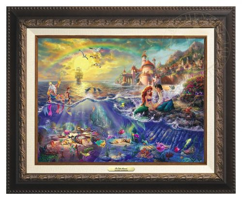 Little Mermaid, The - Canvas Classic (Aged Bronze Frame)