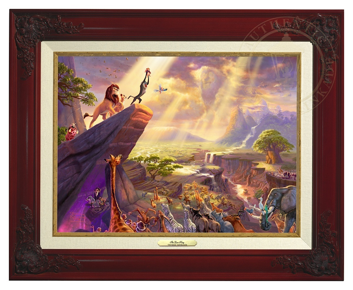 Lion King, The - Canvas Classic (Brandy Frame)
