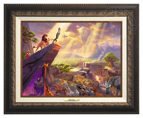 Lion King, The - Canvas Classic (Aged Bronze Frame)