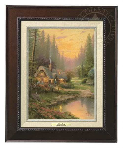 Meadowood Cottage - Canvas Classic (Espresso Frame)