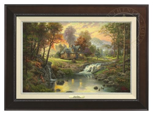 Mountain Retreat - Canvas Classic (Espresso Frame)