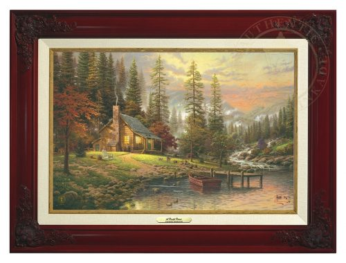 Peaceful Retreat, A - Canvas Classic (Brandy Frame)
