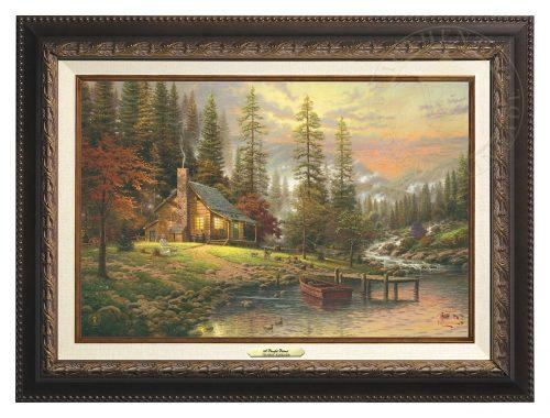 Peaceful Retreat, A - Canvas Classic (Aged Bronze Frame)