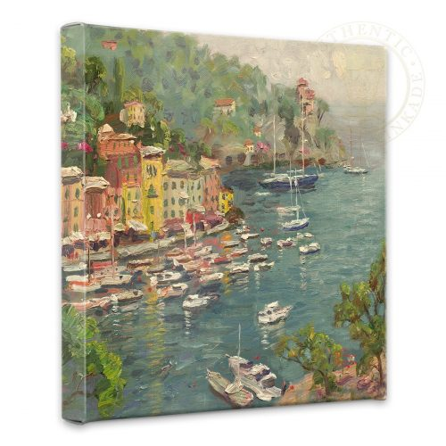 "Portofino - 14"" x 14"" Gallery Wrapped Canvas"
