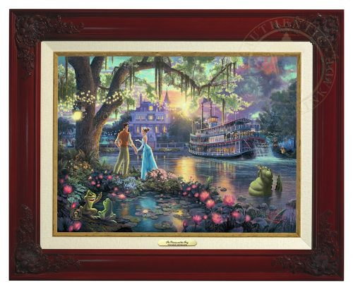 Princess and the Frog, The - Canvas Classic (Brandy Frame)
