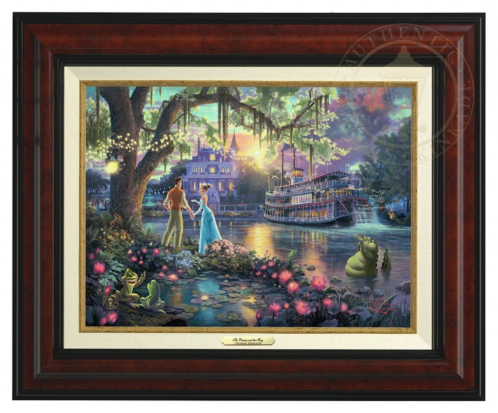 Princess and the Frog, The - Canvas Classic (Burl Frame)