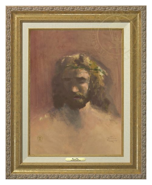 Prince of Peace, The - Canvas Classic (Gold Frame)