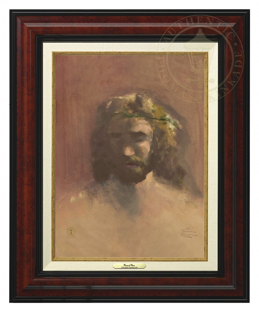 Prince of Peace, The - Canvas Classic (Burl Frame)