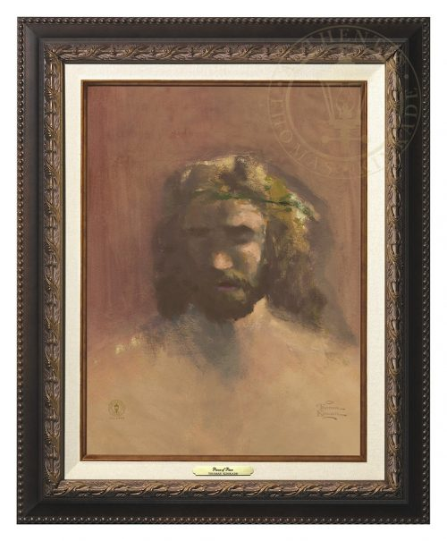 Prince of Peace, The - Canvas Classic (Aged Bronze Frame)