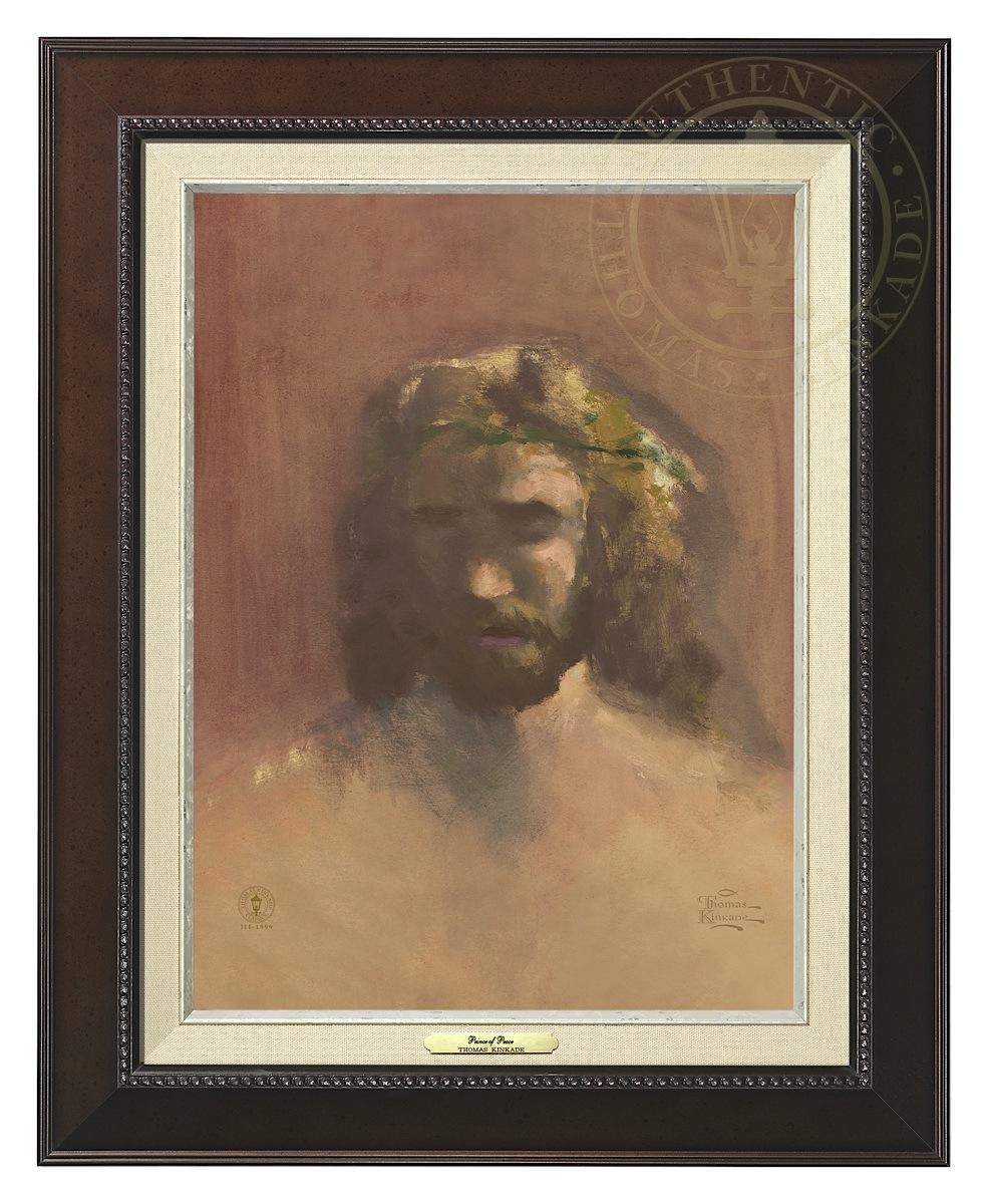 Prince of Peace, The - Canvas Classic (Espresso Frame)
