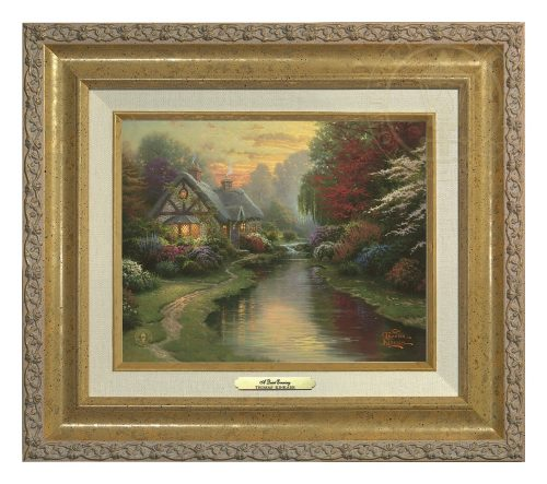 Quiet Evening, A - Canvas Classic (Gold Frame)
