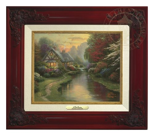 Quiet Evening, A - Canvas Classic (Brandy Frame)