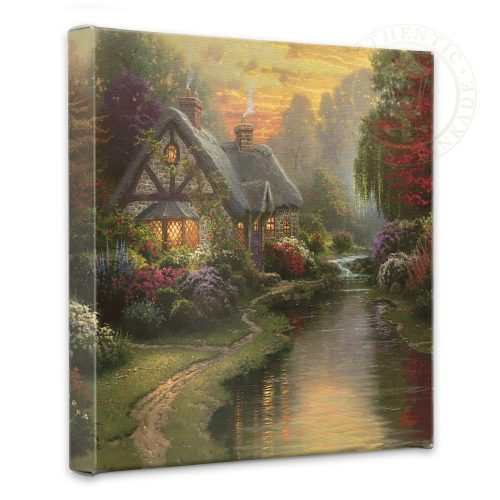 "Quiet Evening, A - 14"" x 14"" Gallery Wrapped Canvas"