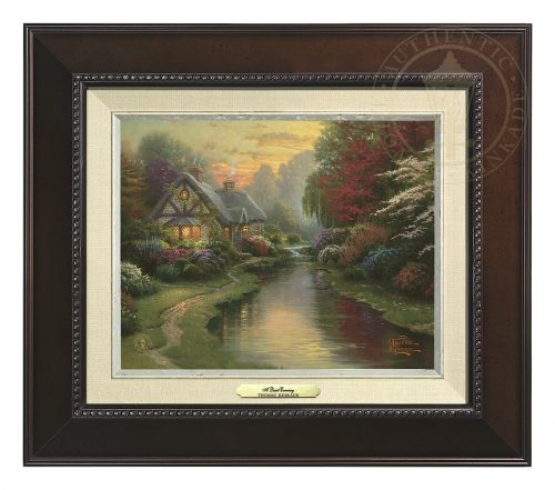 Quiet Evening, A - Canvas Classic (Espresso Frame)