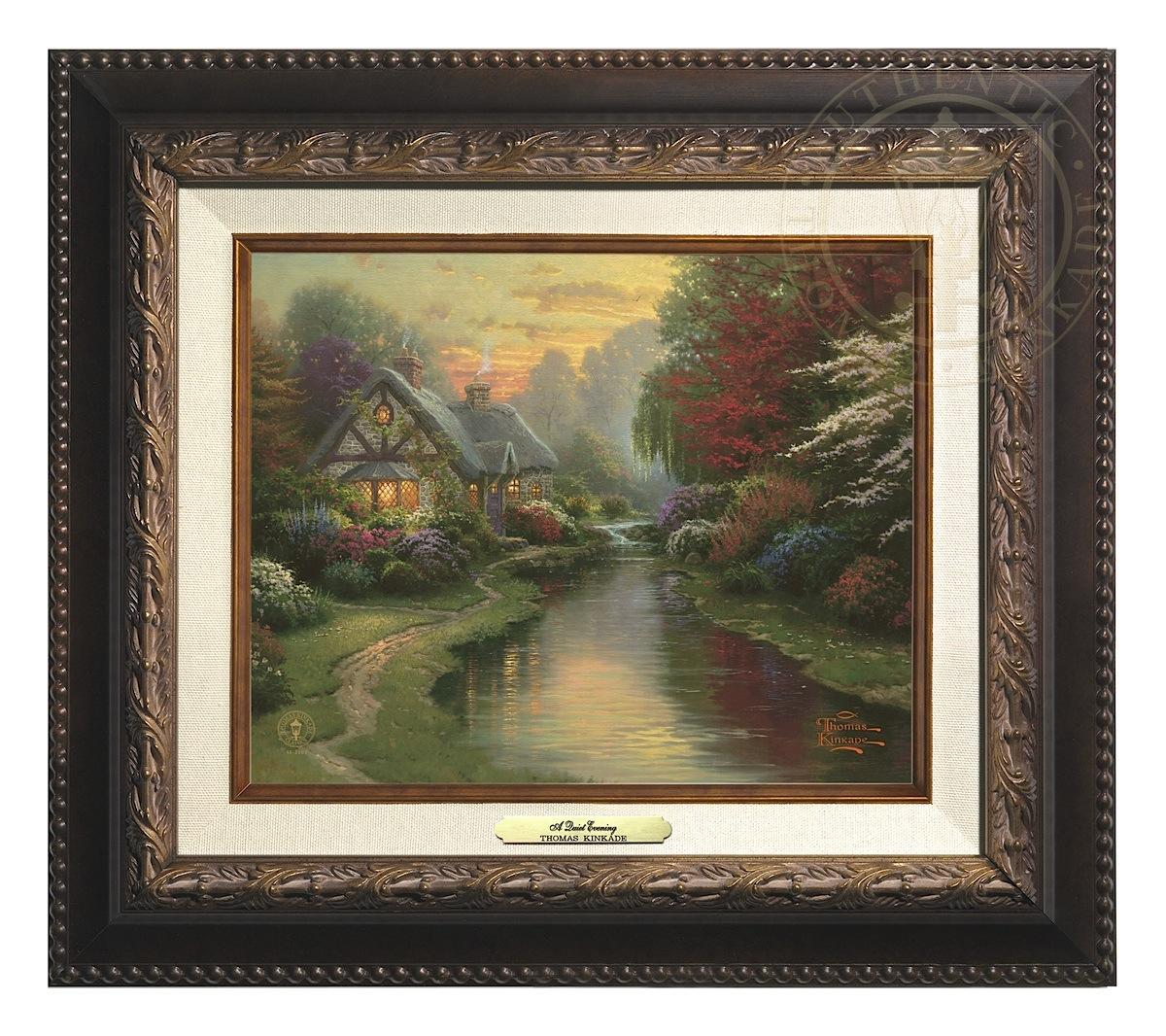 Quiet Evening, A - Canvas Classic (Aged Bronze Frame)