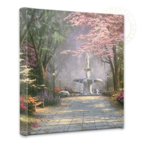 "Savannah Romance - 14"" x 14"" Gallery Wrapped Canvas"