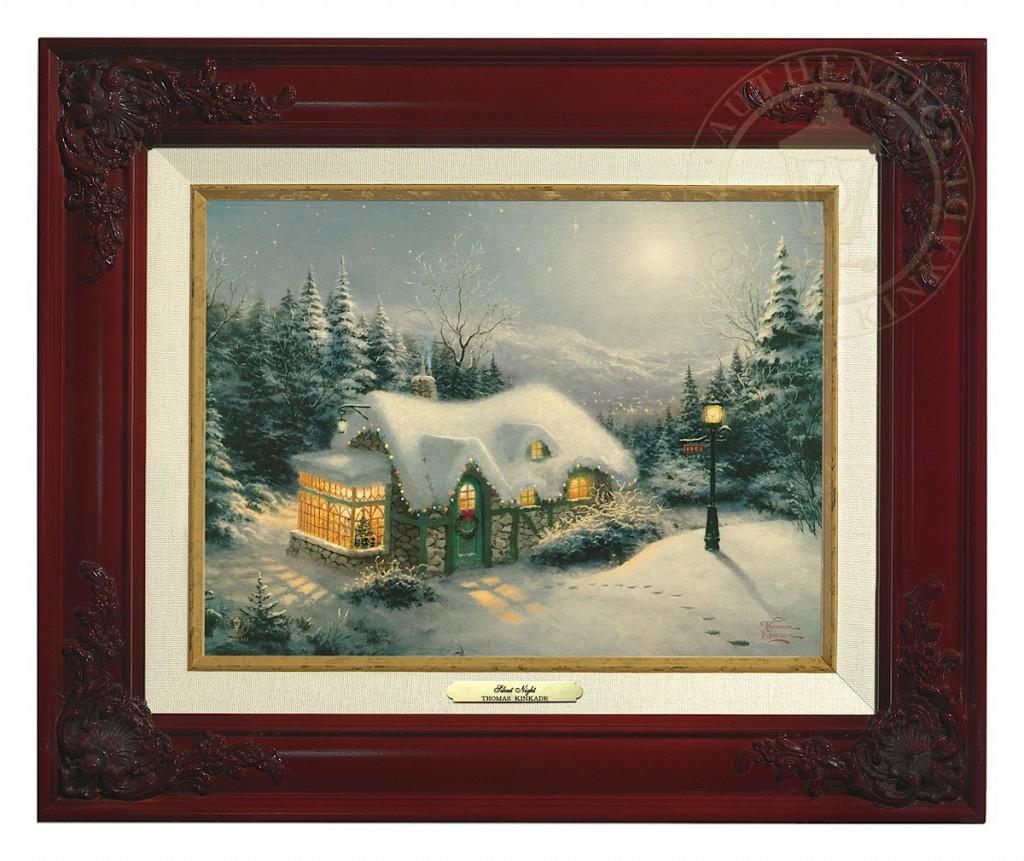 Silent Night - Canvas Classic (Brandy Frame)