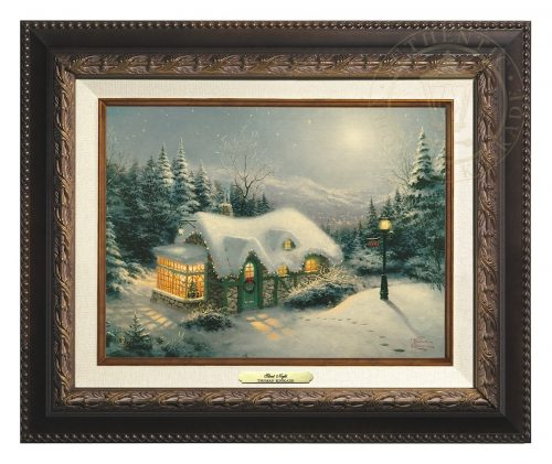 Silent Night - Canvas Classic (Aged Bronze Frame)