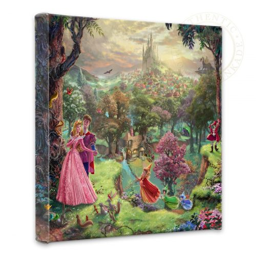 "Sleeping Beauty - 14"" x 14"" Gallery Wrapped Canvas"