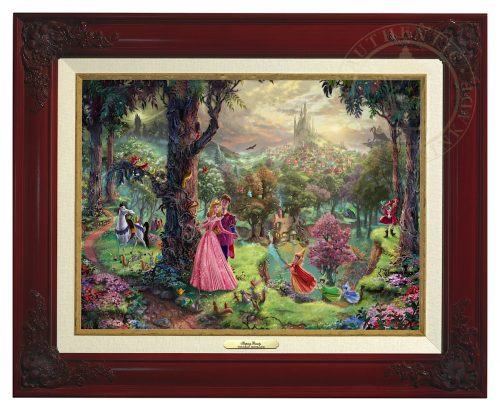 Sleeping Beauty - Canvas Classic (Brandy Frame)