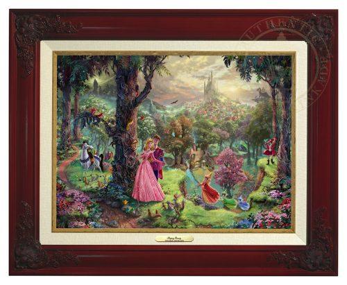 Sleeping Beauty - Canvas Classic (Brandy Frame)