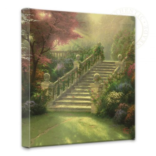 "Stairway to Paradise - 14"" x 14"" Gallery Wrapped Canvas"