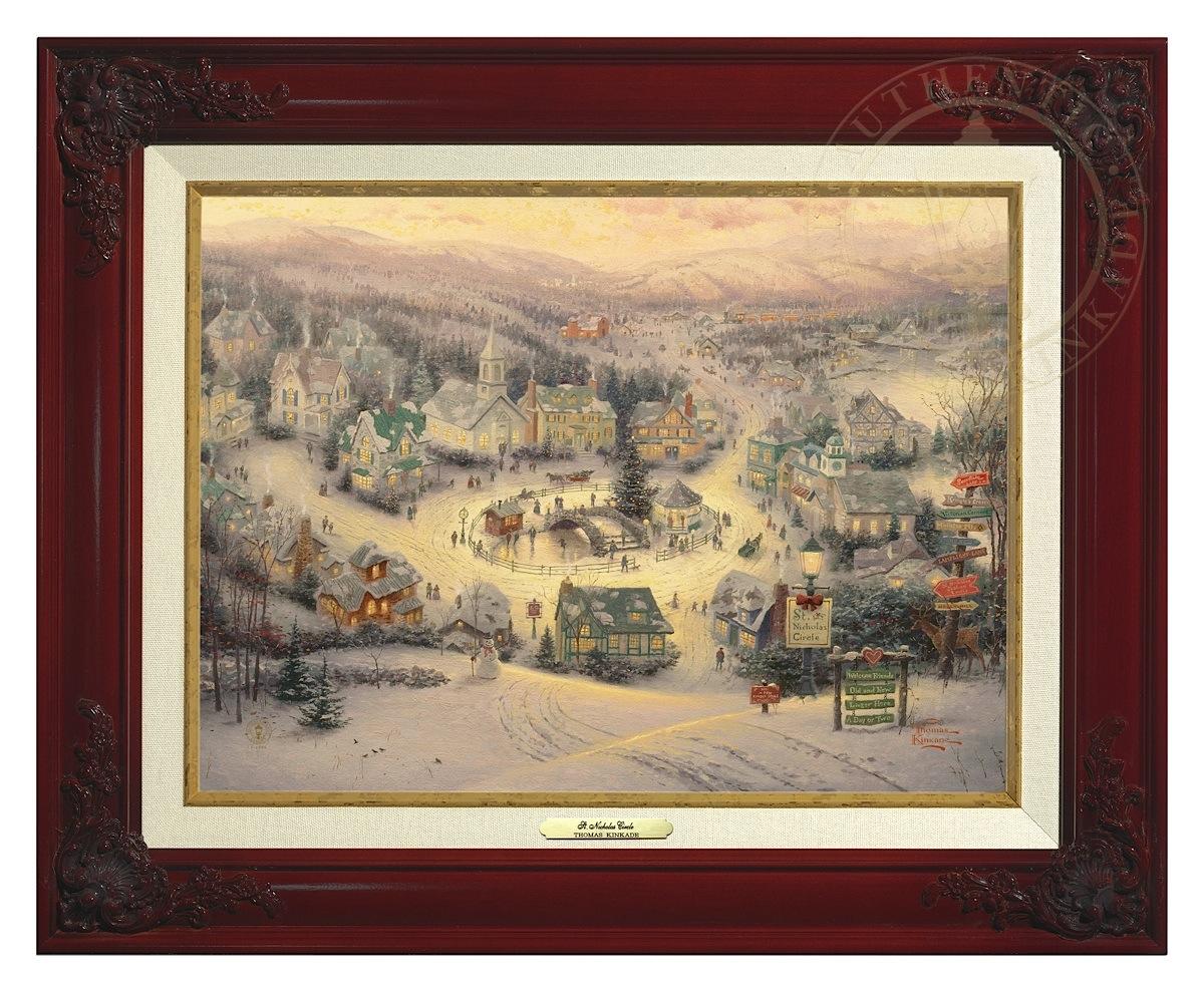 St. Nicholas Circle - Canvas Classic (Brandy Frame)