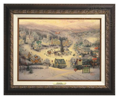 St. Nicholas Circle - Canvas Classic (Aged Bronze Frame)