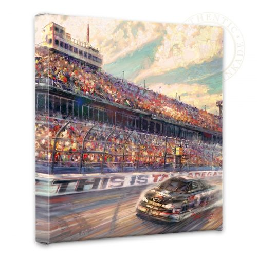 "This is Talladega - 14"" x 14"" Gallery Wrapped Canvas"