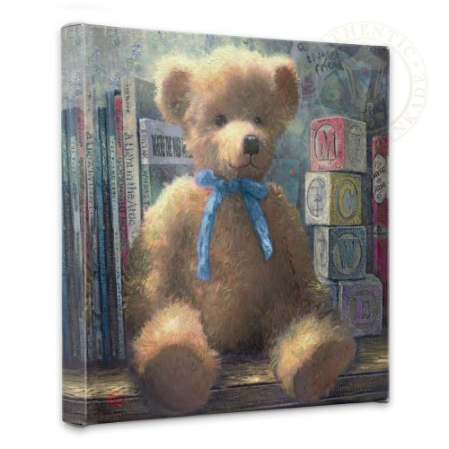 "Trusted Friend, A, Blue Bell - 14"" x 14"" Gallery Wrapped Canvas"