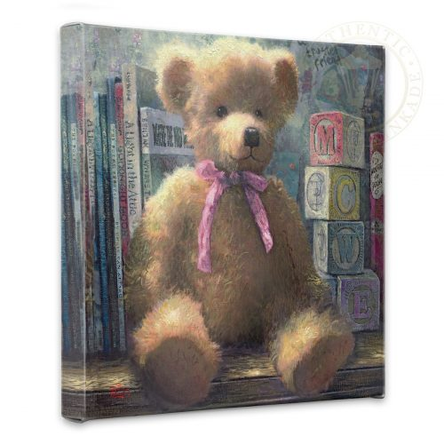 "Trusted Friend, A, Rose Bud - 14"" x 14"" Gallery Wrapped Canvas"