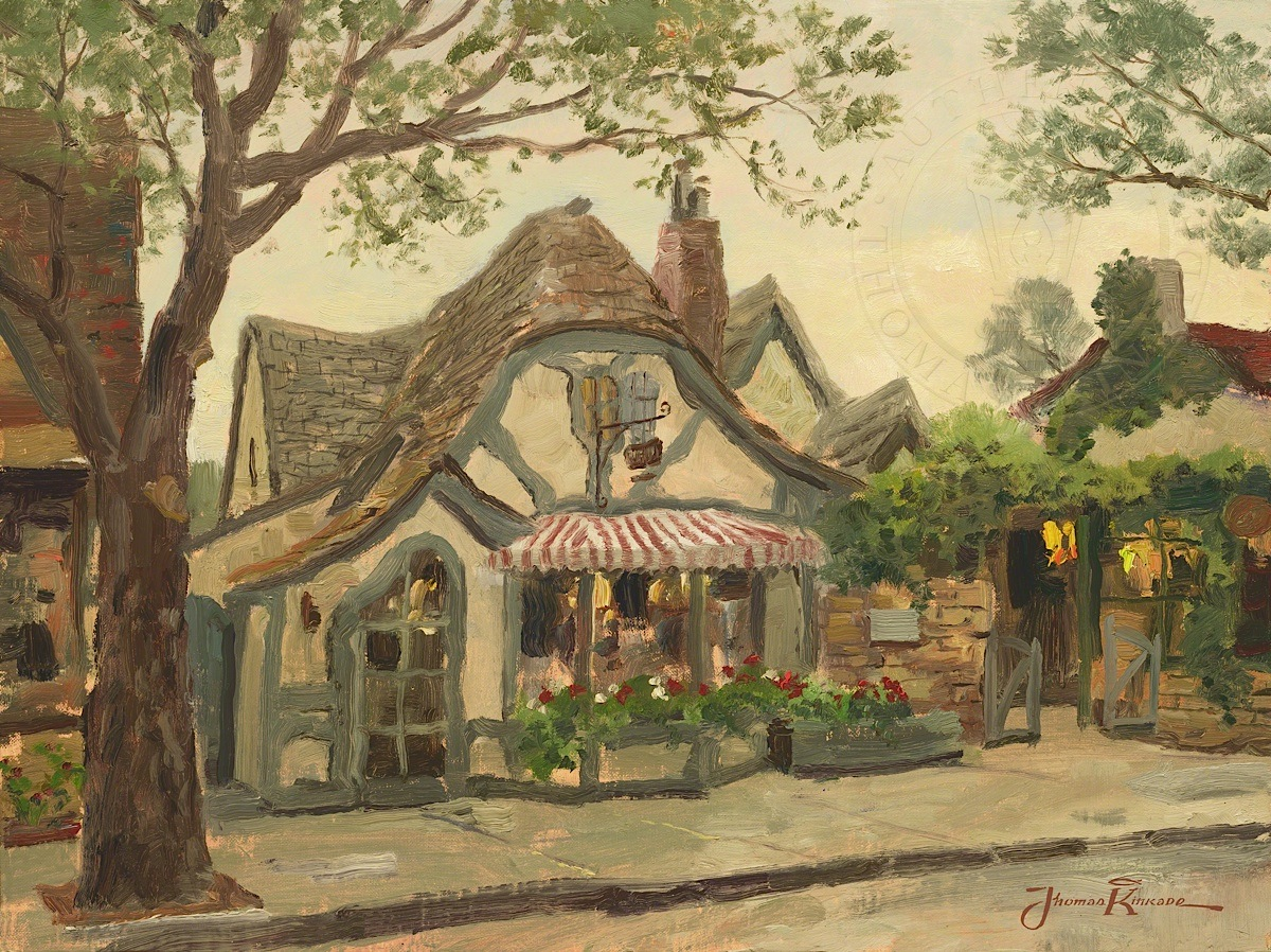 Tuck Box Tea Room, Carmel