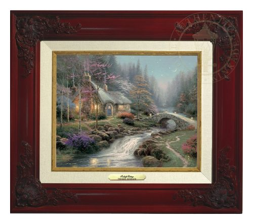 Twilight Cottage - Canvas Classic (Brandy Frame)