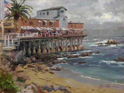 View from Cannery Row, Monterey, A