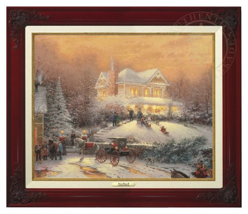 Victorian Christmas II - Canvas Classic (Brandy Frame)
