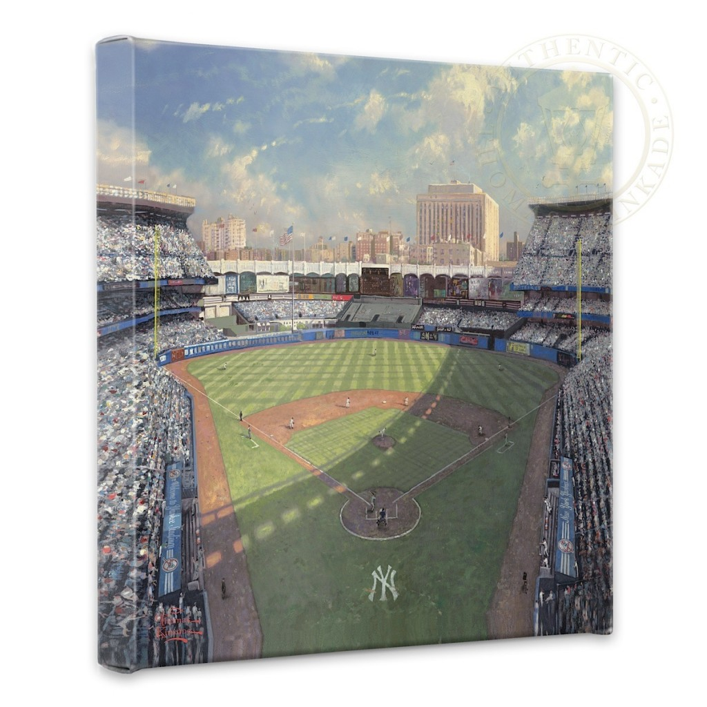 "Yankee Stadium - 14"" x 14"" Gallery Wrapped Canvas"