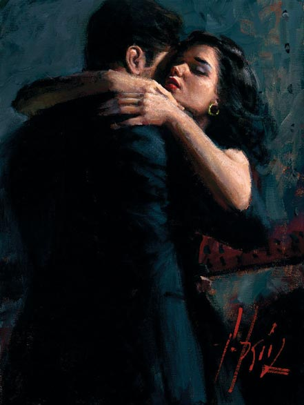 fabian perez the embrace iii