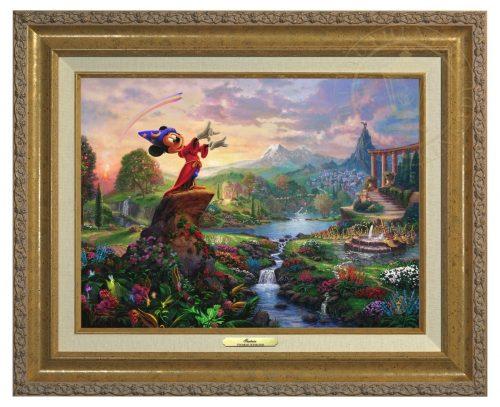 Fantasia - Canvas Classic (Gold Frame)
