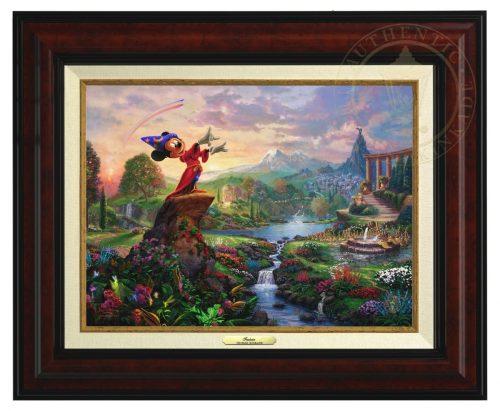 Fantasia - Canvas Classic (Burl Frame)